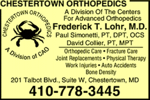 Chestertown Orthpedics
